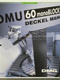 Fräsmaschine DMU 60 monoBlock 5 Achs Fräsen